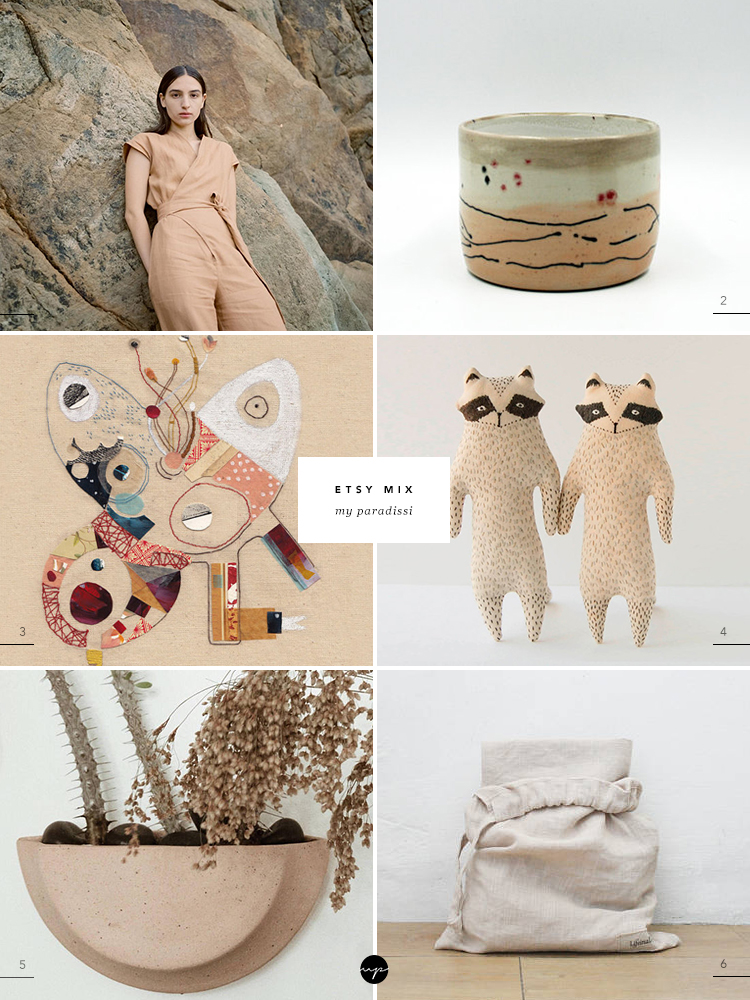 Favorite handmade products sold on Etsy stores