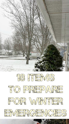 18 Items To Prepare For Winter Emergencies