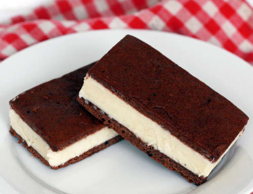 An Evening Meal Ice Cream Sandwiches