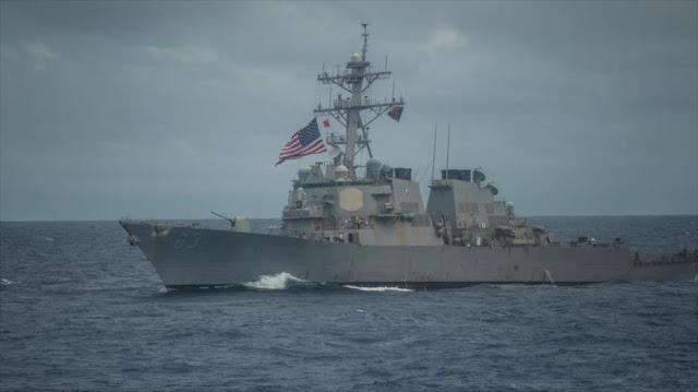 Buque de EEUU desafía a China acercándose a islas en disputa