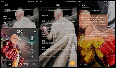 Download Tema Anime One Punch Man Xiaomi