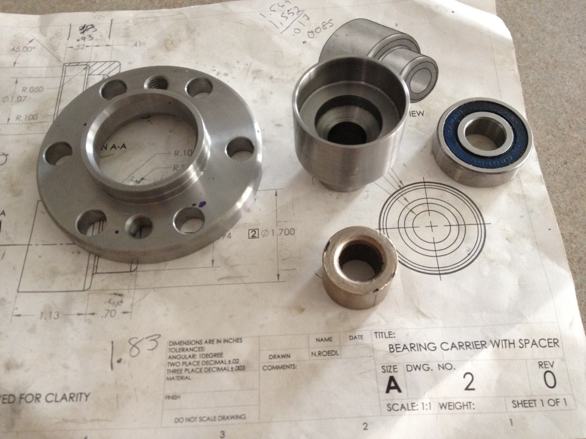 LS1 DeLorean: Part Fabrication: How to make a flywheel
