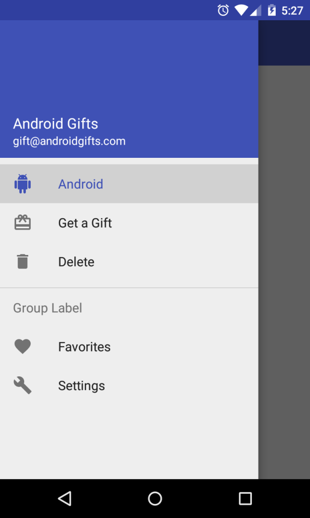 Andriod Gifts