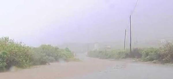 Bastantes incidentes con el viento en las islas occidentales
