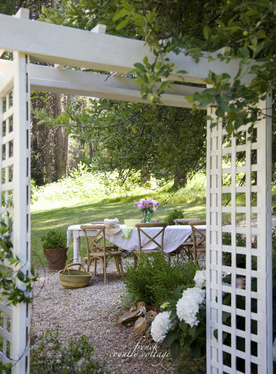 French Country Fridays- Patio Refresh Planning