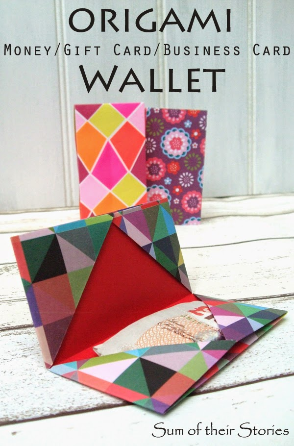 Origami Cash Gift Wallet - Sum of their Stories - photo#30