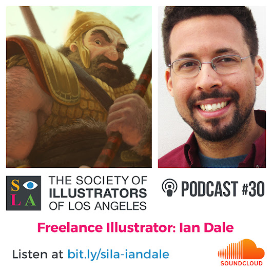 Podcast interview with the Society of Illustrators LA