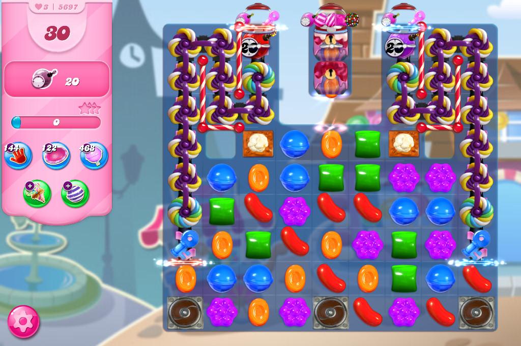 Candy Crush Saga level 5697