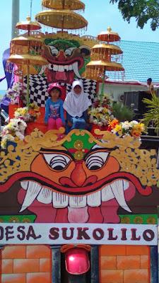 Atraksi Reog Ponorogo (Persiapan Karnaval Umum dari Desa Sukolilo) Dalam Rangka HUT RI Ke-71 Se-Kecamatan Bancar