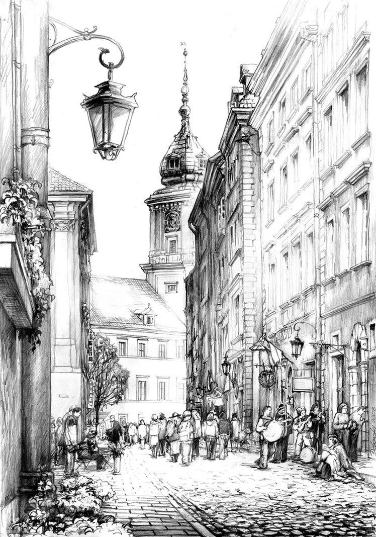 06-Swietojanska-Street-Warsaw-Poland-Royal-Palace-Łukasz-Dębowski-aka-hipiz-Architecture-and-Interior-Design-Drawings-www-designstack-co