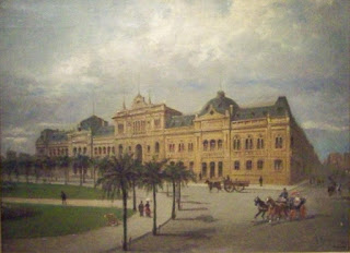 Casa Rosada by Karl Kaufmann in 1890