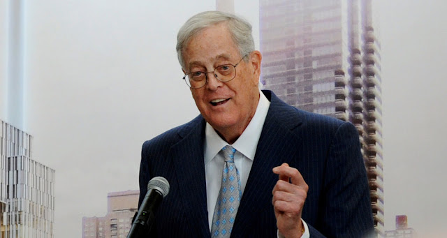 David Koch Net Worth - $55.2 Billion