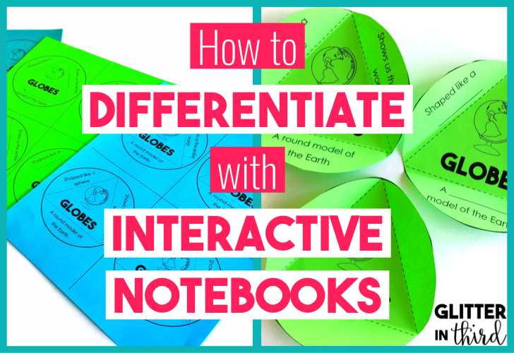 Title picture of differentiation with interactive notebooks