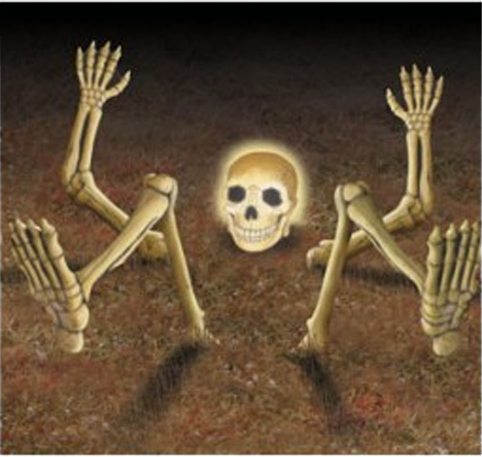 halloween decoration light up skull skeleton prop bones body parts