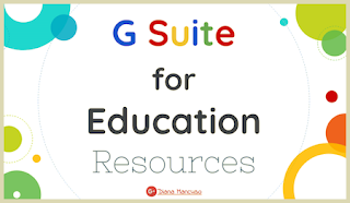 G Suite for Educational Resources - Diana Mancuso