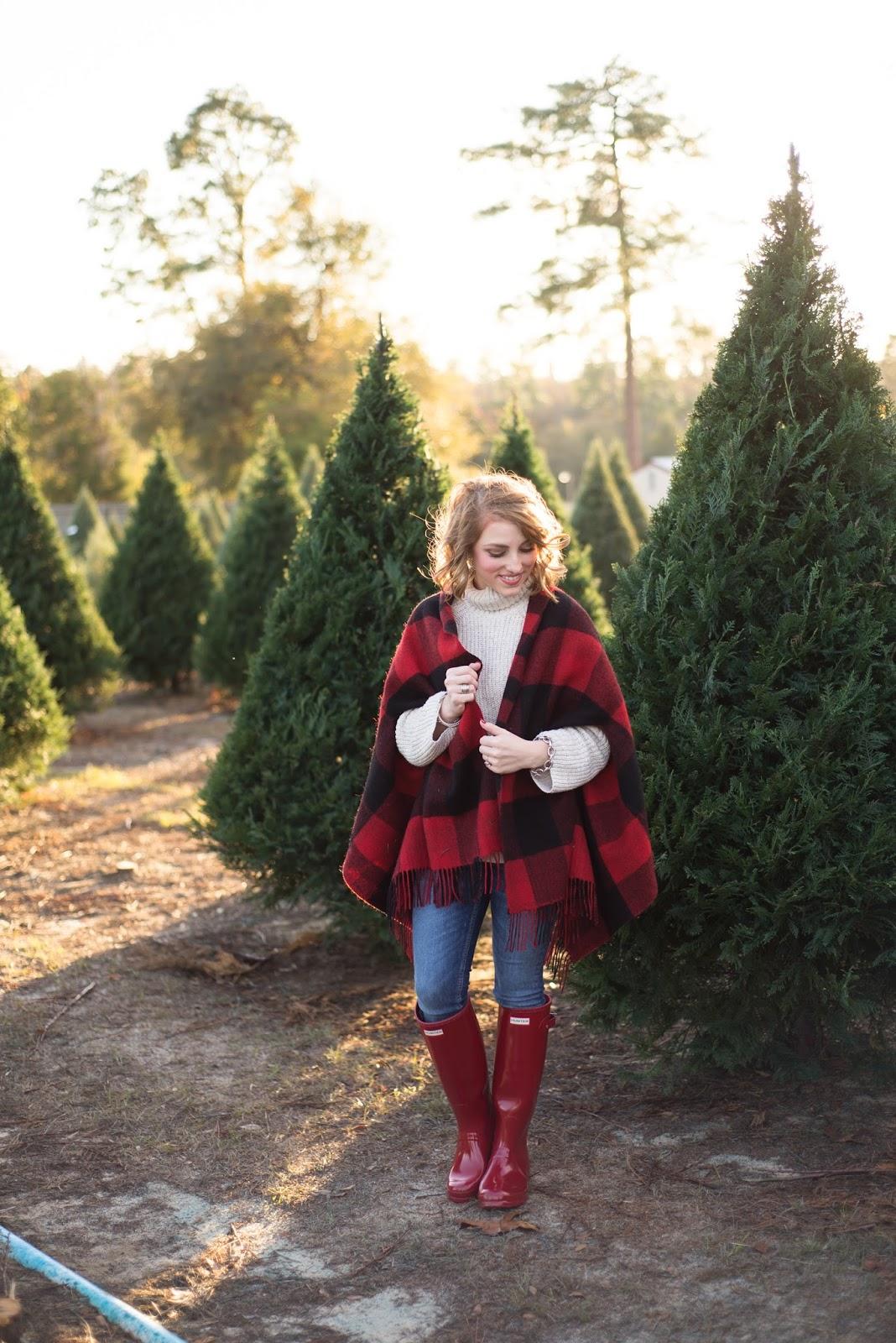 Red Hunter Boots - Something Delightful Blog