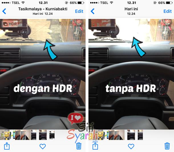 apa itu hdr pada kamera android dan iphone