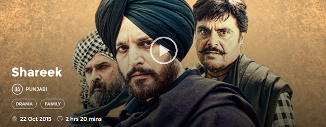 Shareek 2015 Full Punjabi Movie Download free in 720p avi mp4 HD 3gp hq