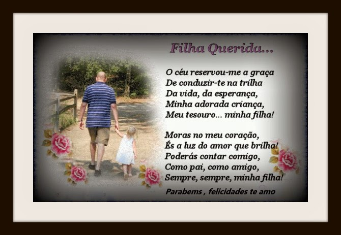 Mensagem De Aniversario Filha Para Pai