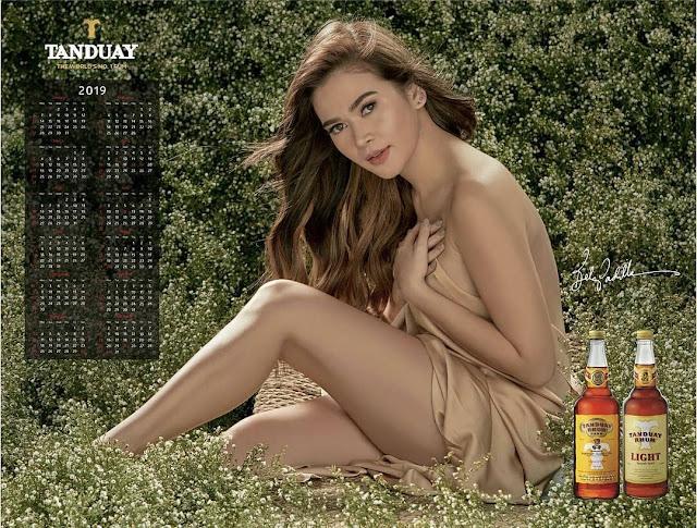 Bela Padilla Tanduay Calendar Girl 2019