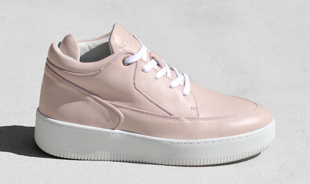 Mercer Amsterday Sneaker in Rose Quartz