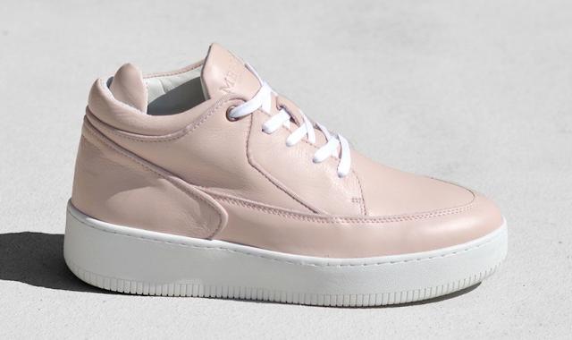 Mercer Amsterday Sneaker in Rose Quartz