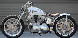sportster old tracker by bike garage kokoro