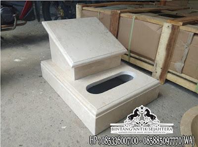 Batu Nisan Marmer, Batu Nisan Kotak, Marmer Tulungagung