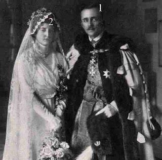 Archduchess Mechthildis of Austria- Prince Olgierd Czartoryski.