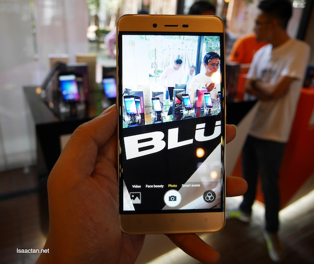 One of the higher end BLU smartphones