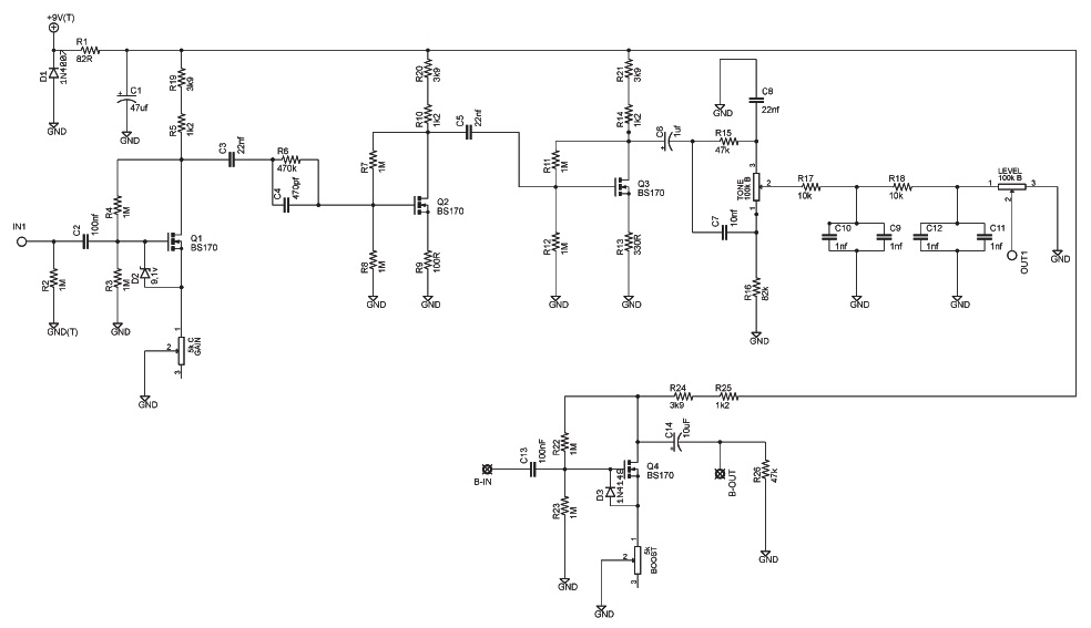 Fender Frontman 15g Schematic in addition Ordre Brancher Pedales Deffet additionally A2xvbi1jZW50YXVyLXNjaGVtYXRpYw likewise Basic Operational  lifier Using Ic 741 together with 50 Great Business Logos Featuring Car Designs. on overdrive circuit