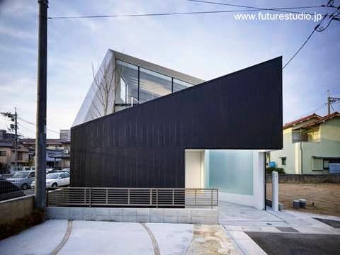 Casa moderna vanguardista japonesa en Hiroshima 2009