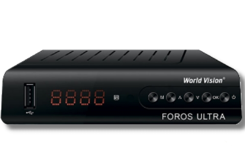 How to enter Biss key in World Vision Foros