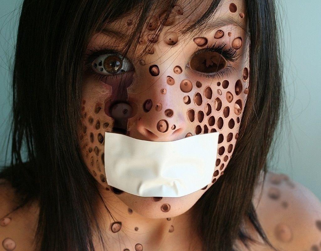 Imagens proibidas para pessoas com TOC e Tripofobia