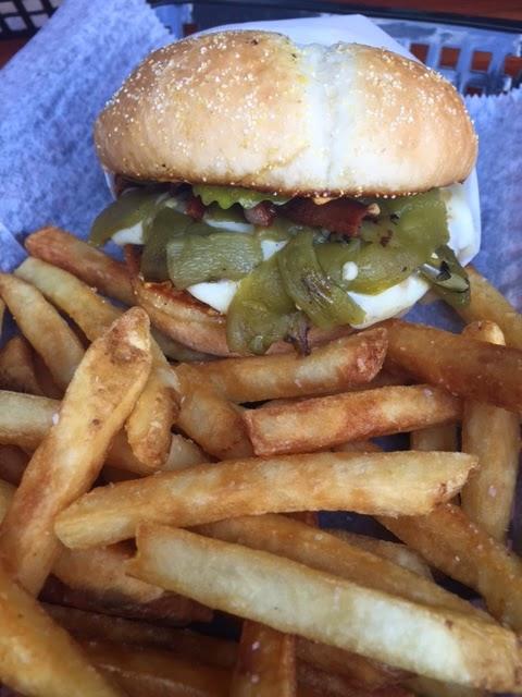 The Jose Montoya burger from Killer Burger in #PDX