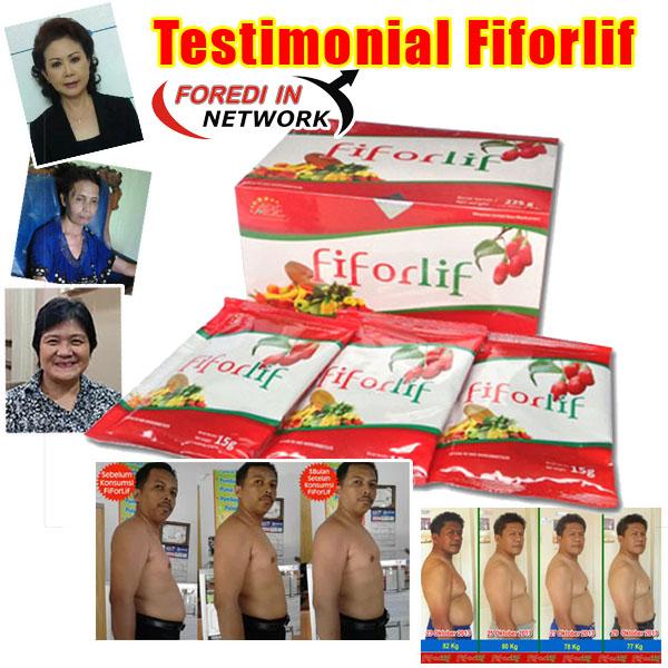 testimonial obat diet  manjur fiforlif rekomendasi boyke