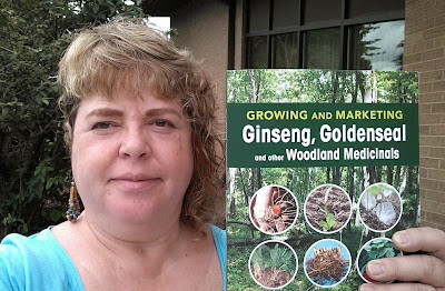 Growing and Marketing Ginseng Goldenseal and Other Woodland Medicinals book with author