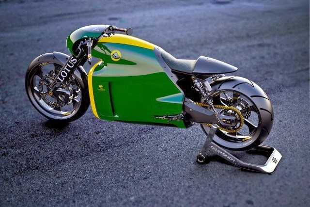 Lotus Motorcycle C 01 Specs and Pictures