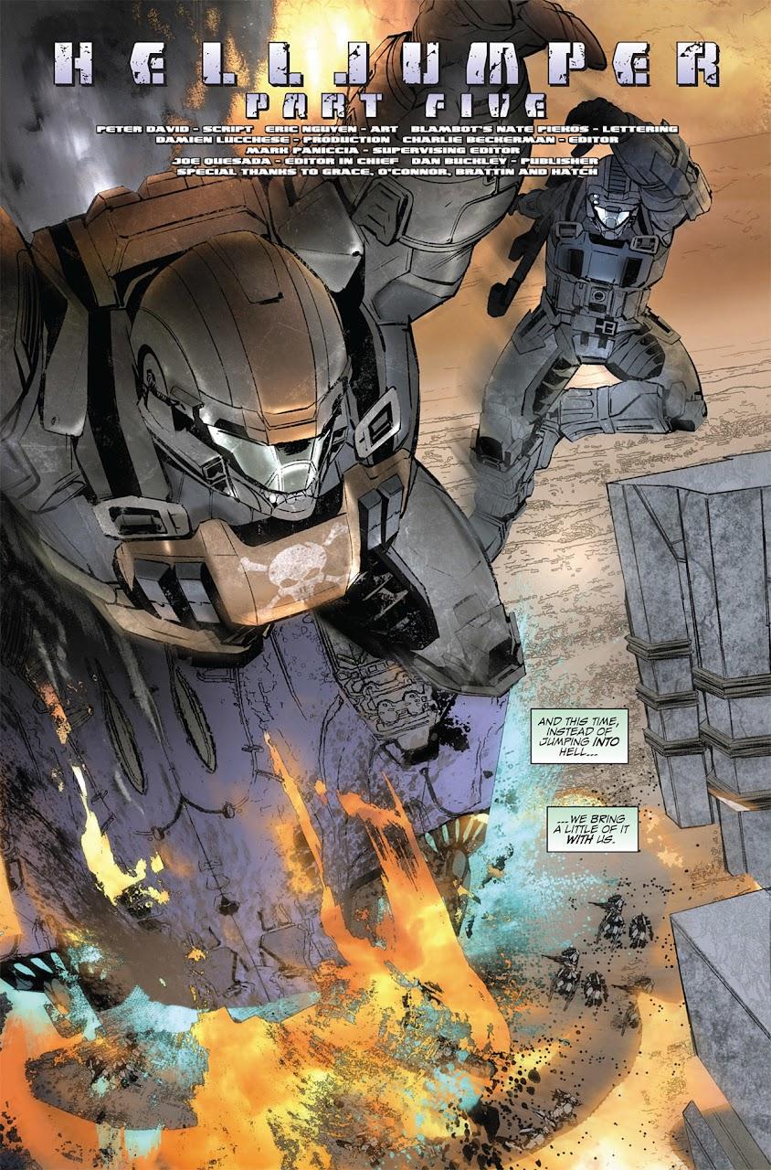 Halo - Helljumper | Phi Ngục Tổ