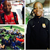Darey Art Alade shows off his son who is playing his first international tournament in Barcelona