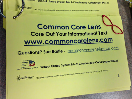 Common Core Lens: Core Out Your Informational Text