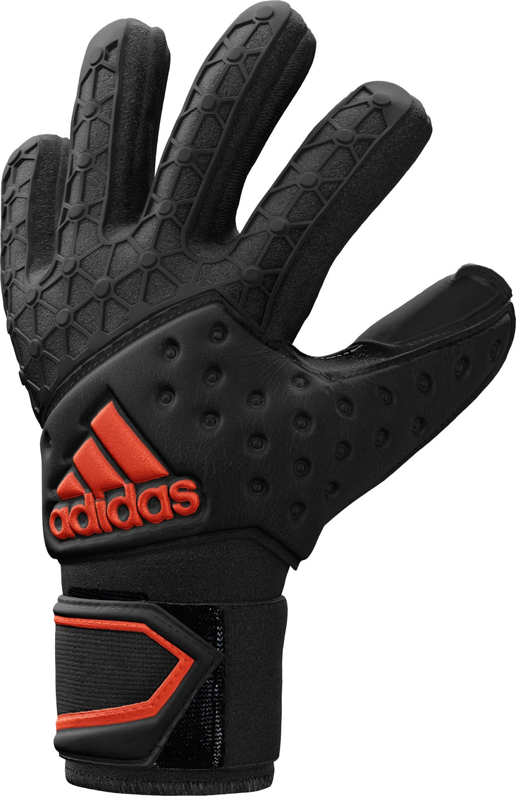 adidas Goalkeeper Gloves Predator FingerRoll Infrared ... |Goalkeeper Gloves Adidas 2015
