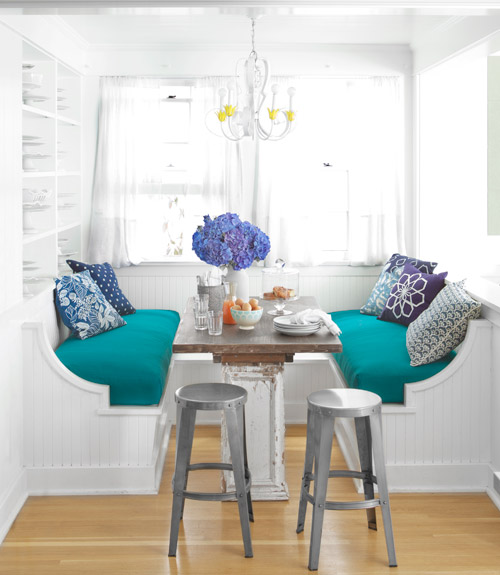Built In Bench Seating: Breakfast Nooks: Kitchen Bench Seats / Banquettes