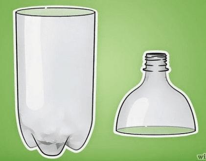 Menggunakan botol bekas lebih hemat biaya dibanding menggunakan perangkap nyamuk prototi
