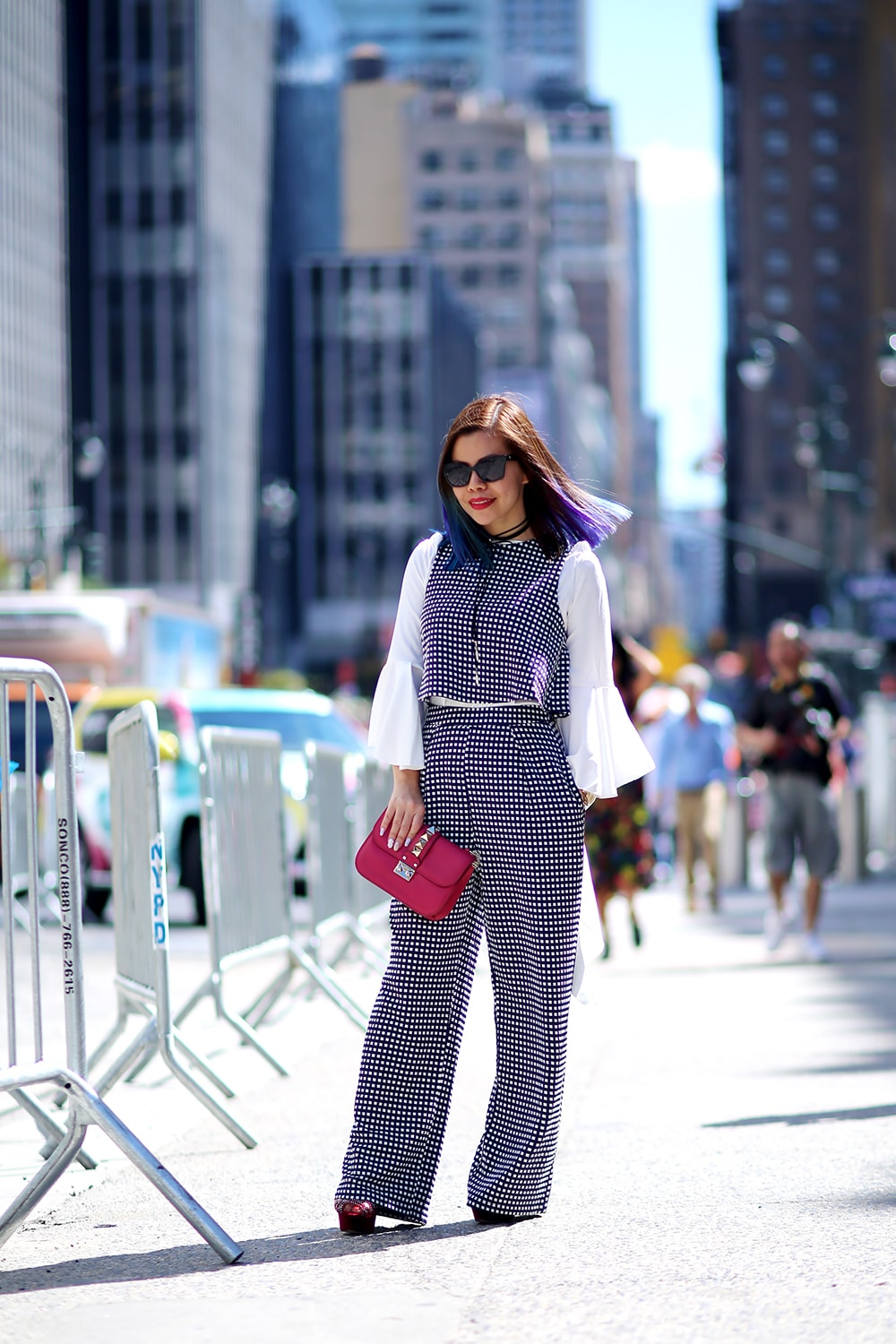 Crystal Phuong- New York Fashion Week 2016- Streetstyle day 6