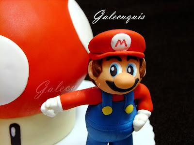 Super Mario fondant