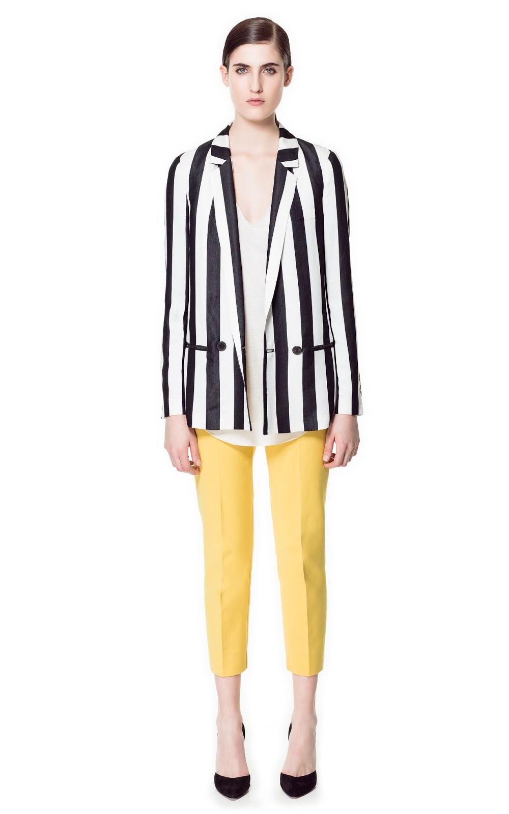 607d02b3f Rayas blancas y negras : Pinceladas de estilo - Blog de moda ...