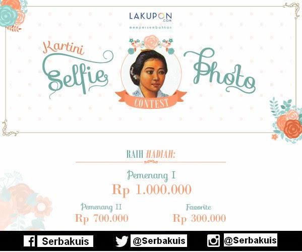 Kartini Selfie Photo Contest Berhadiah Uang Total 2 Juta