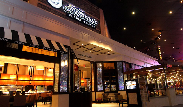 Restaurante IL Fornaio em Las Vegas