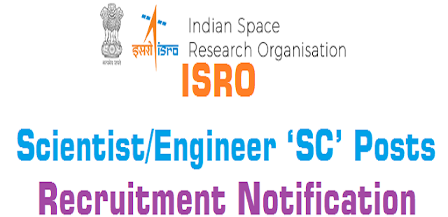 ISRO,Scientist,Engineer 'SC' Posts,Recruitment